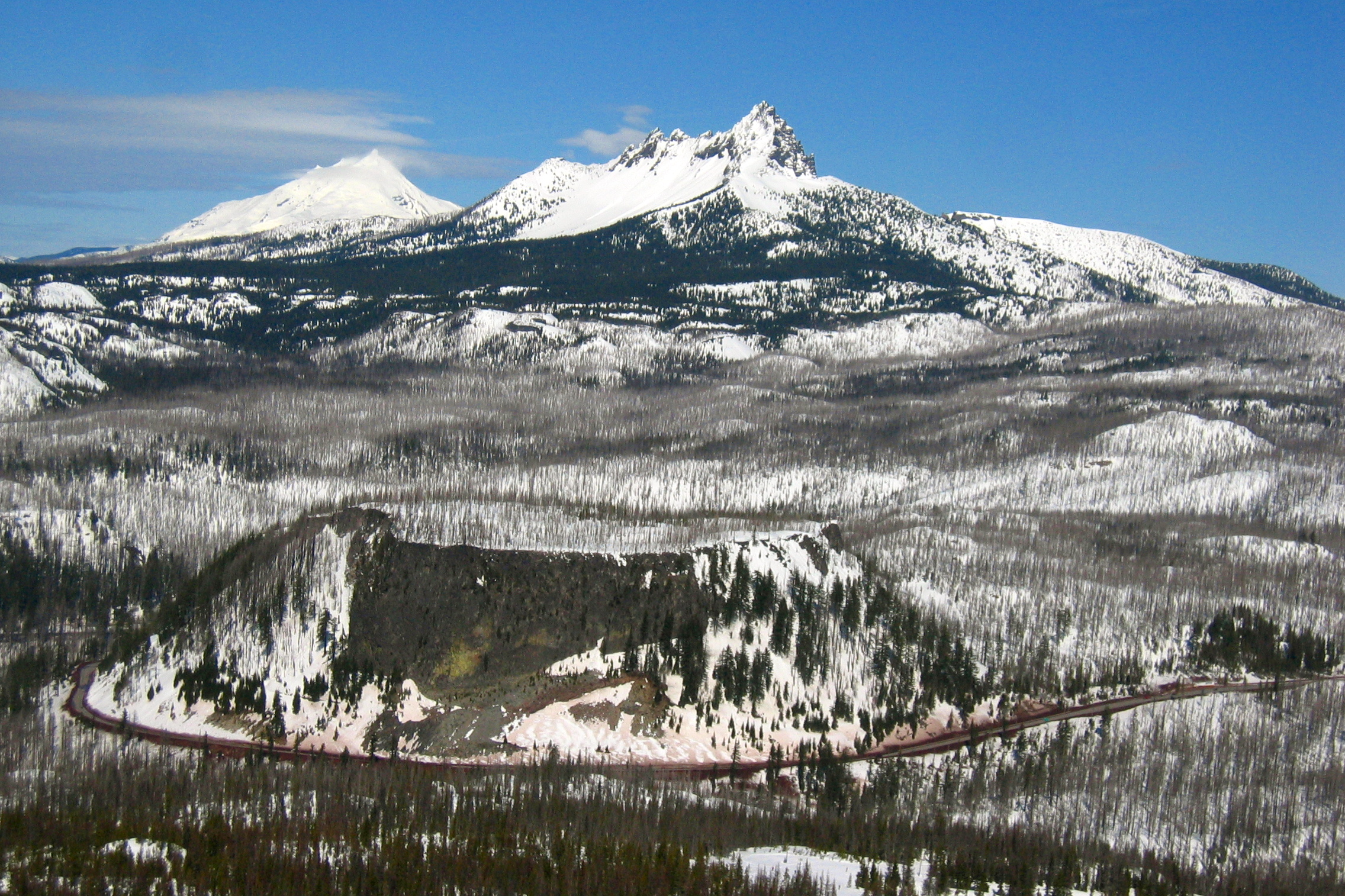 Santiam Pass - Wikipedia