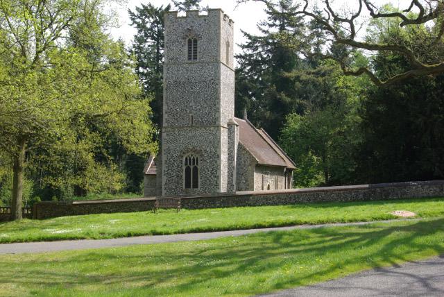 Santon Downham Church - geograph.org.uk - 795638
