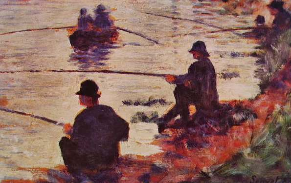 Georges-Pierre Seurat - Pescadores
