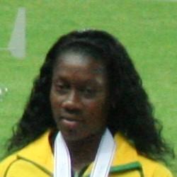 Sheri-Ann Brooks Jamaican sprinter