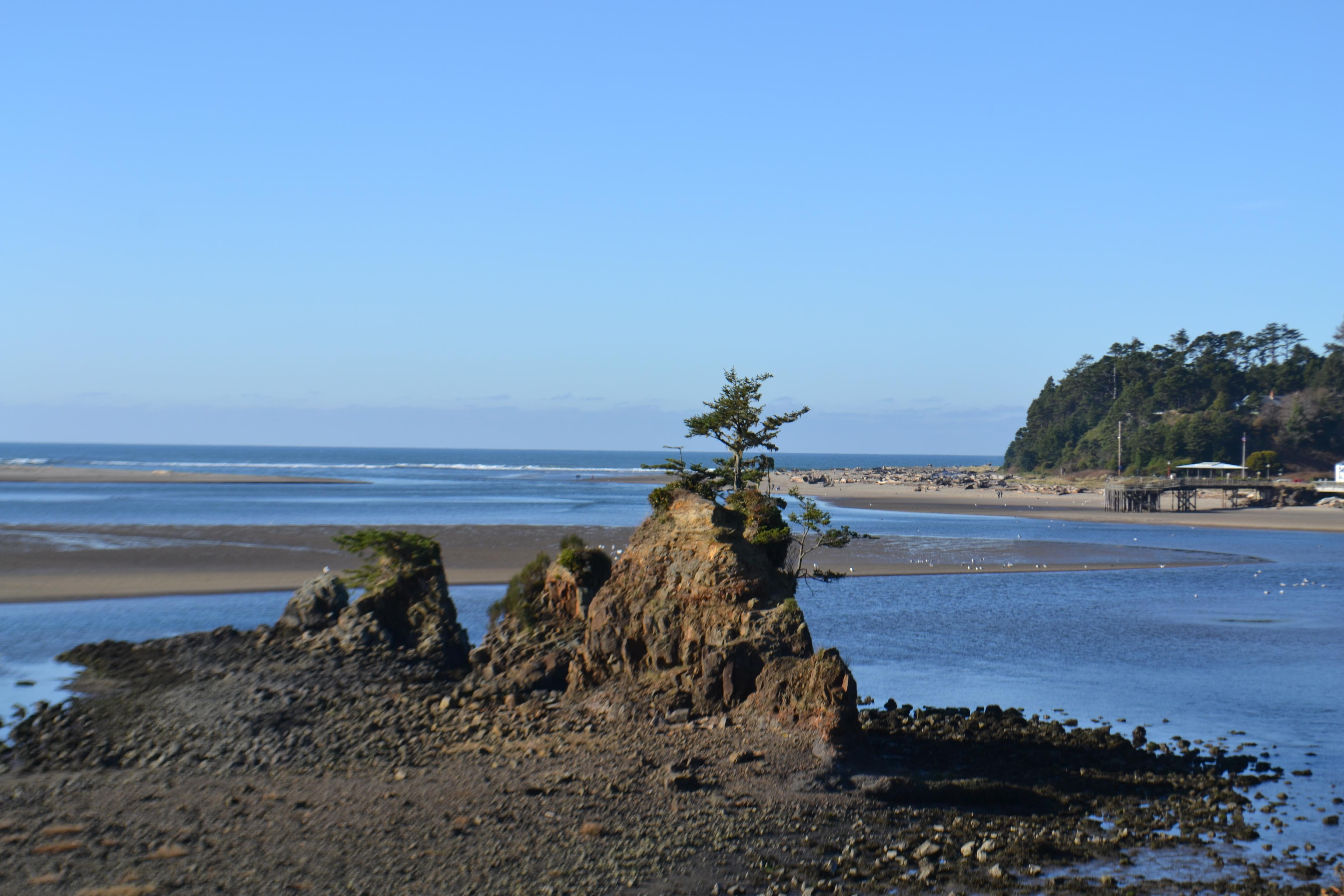 Beach Lincoln City Oregon