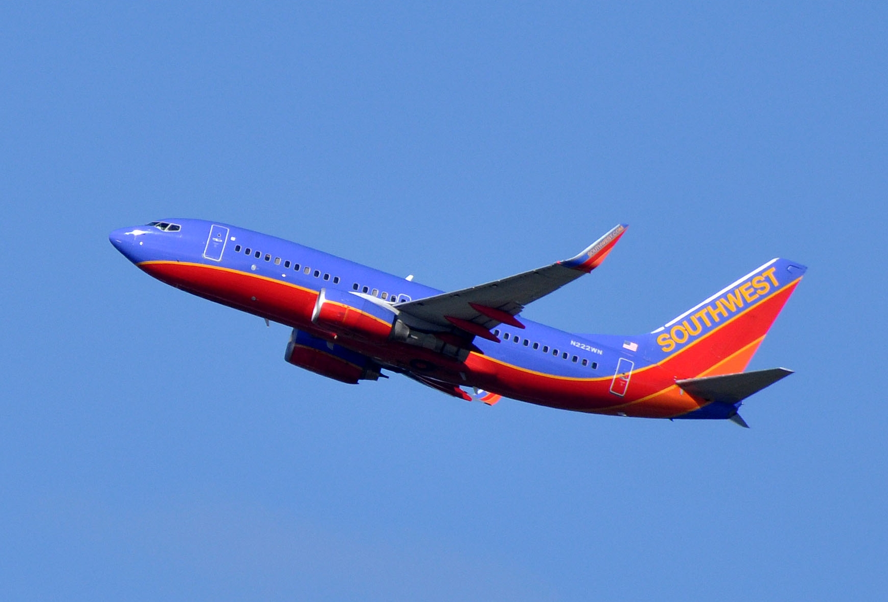File:Southwest Airlines, Boeing 737-7H4(WL), N222WN - SEA ...