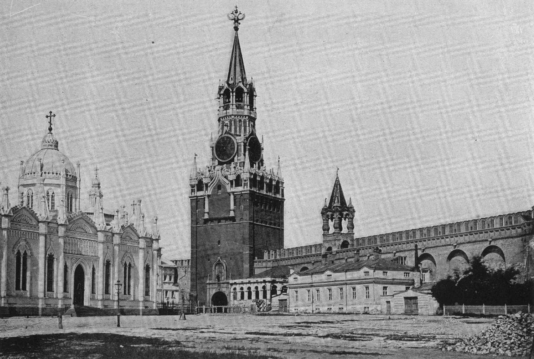 Фото и картины русской старины. Москва.