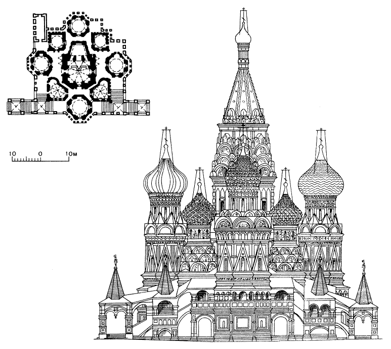File St Basil S Cathedral Line Drawing Png Wikimedia Commons