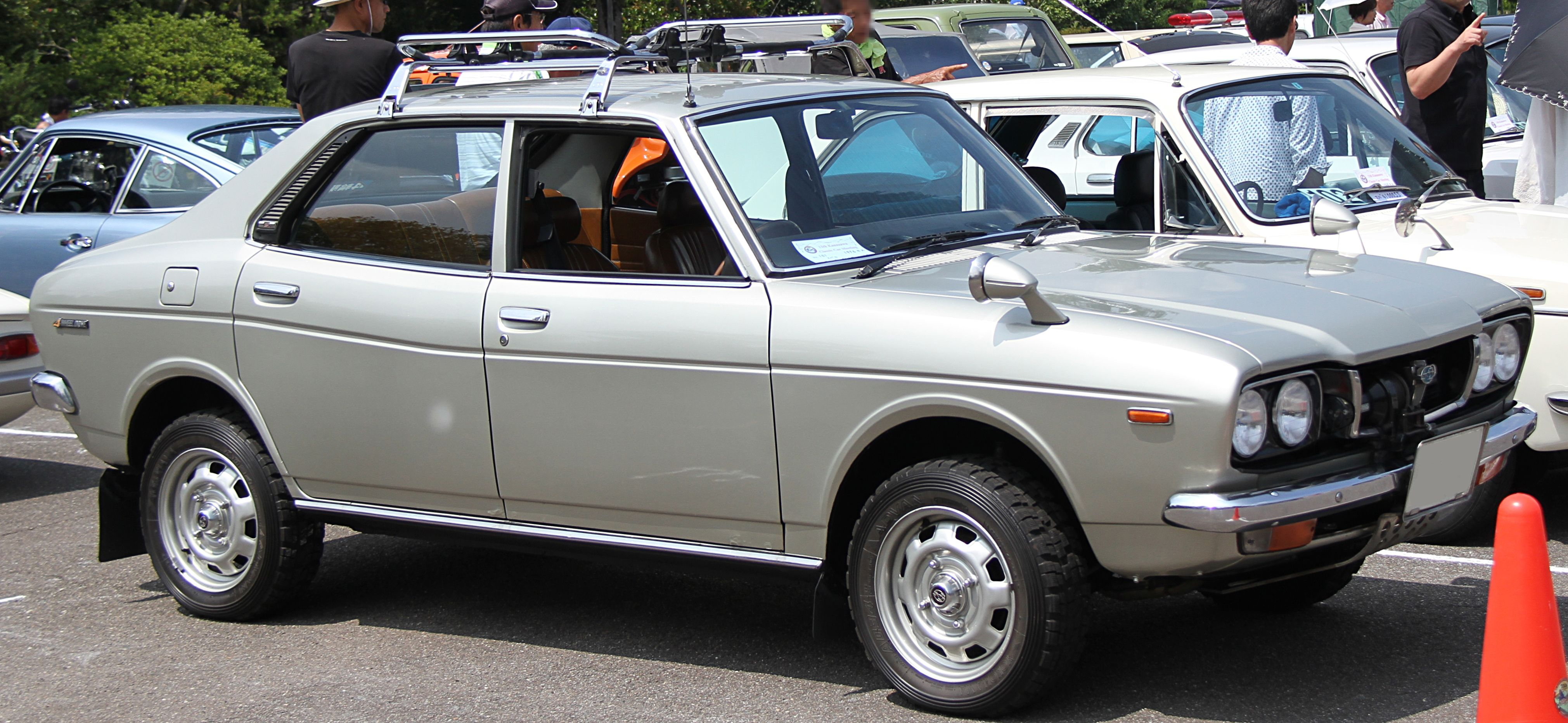 File Subaru Leone Door Sedan Jpg Wikipedia
