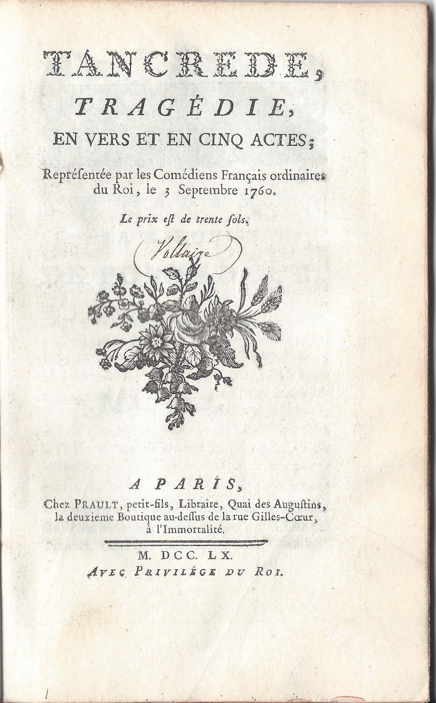 Tancrède Tragedy Wikipedia