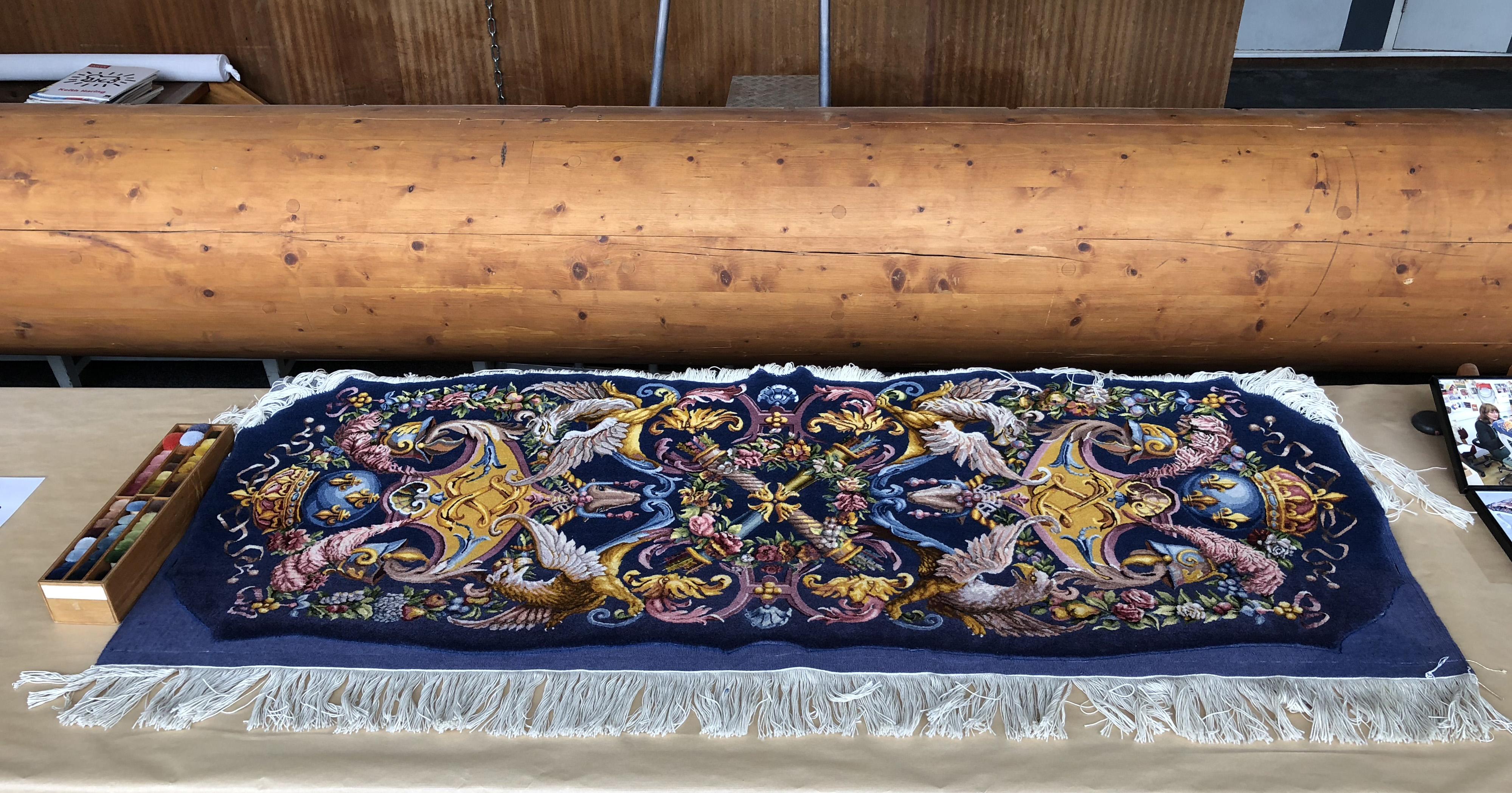 Manufacture Francaise Des Textiles D Ameublement file:tapis de savonnerie - manufacture de la savonnerie