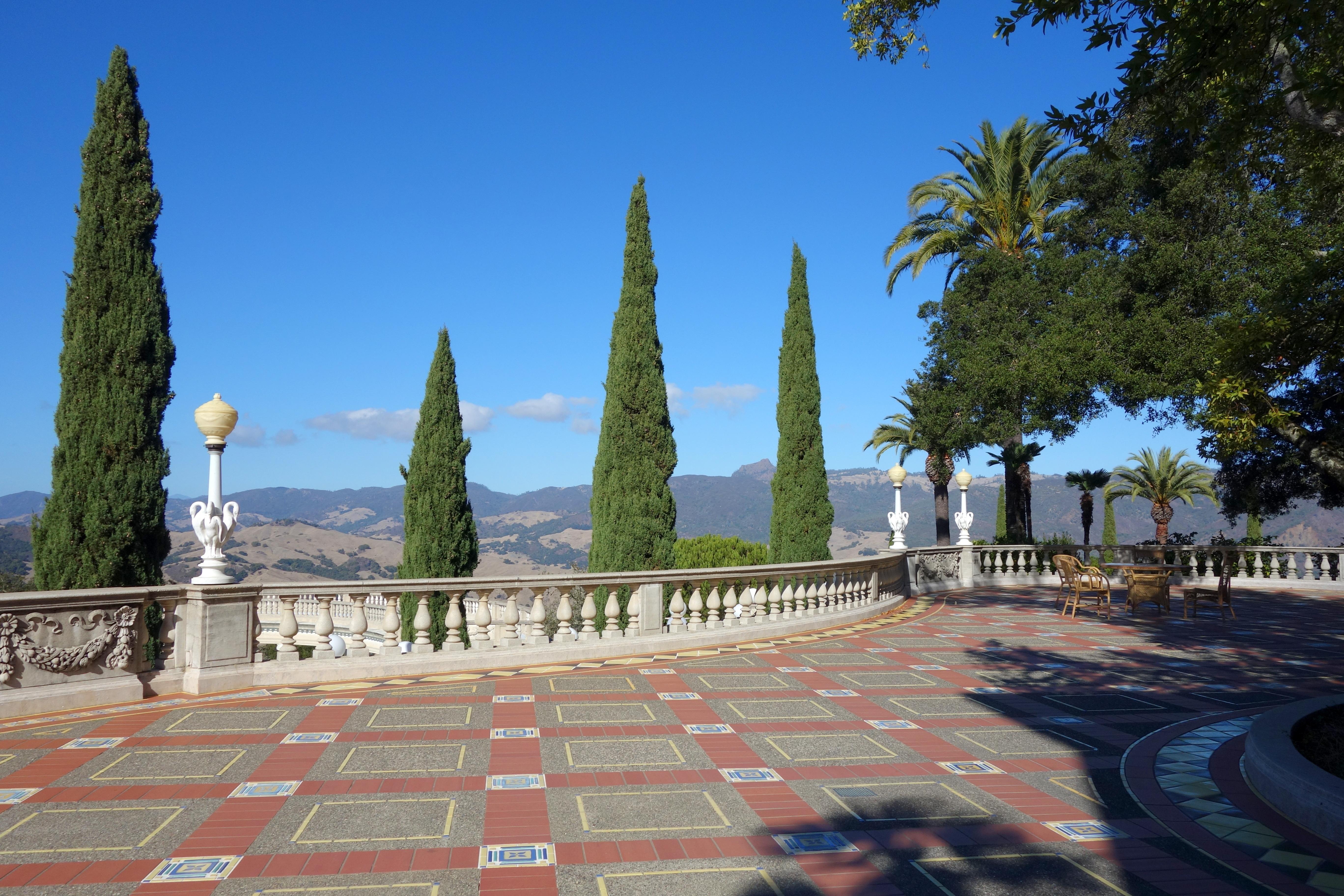 File terrace hearst castle dsc06580 jpg wikimedia for 1 the terrace