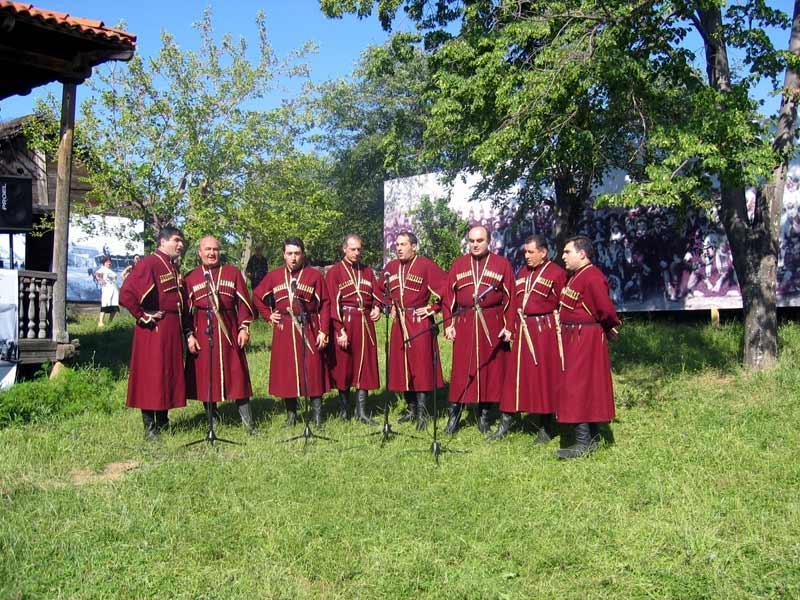 Rustavi kör och dansgrupp