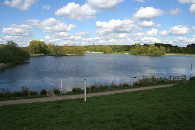 The main lake - Melton Country Park - geograph.org.uk - 1278790