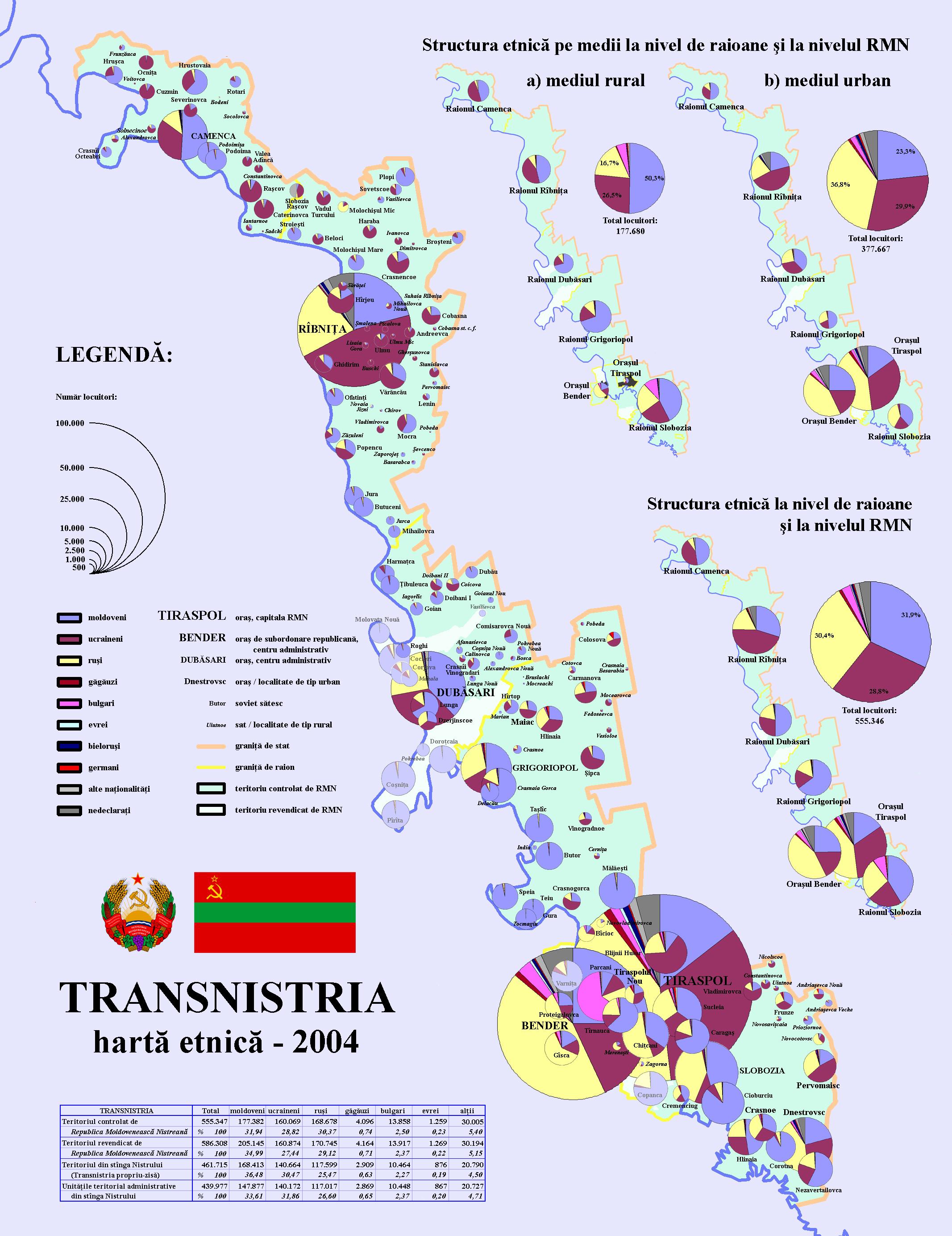 FileTransnistriaharta Etnica Jpg Wikimedia Commons - Transnistria map