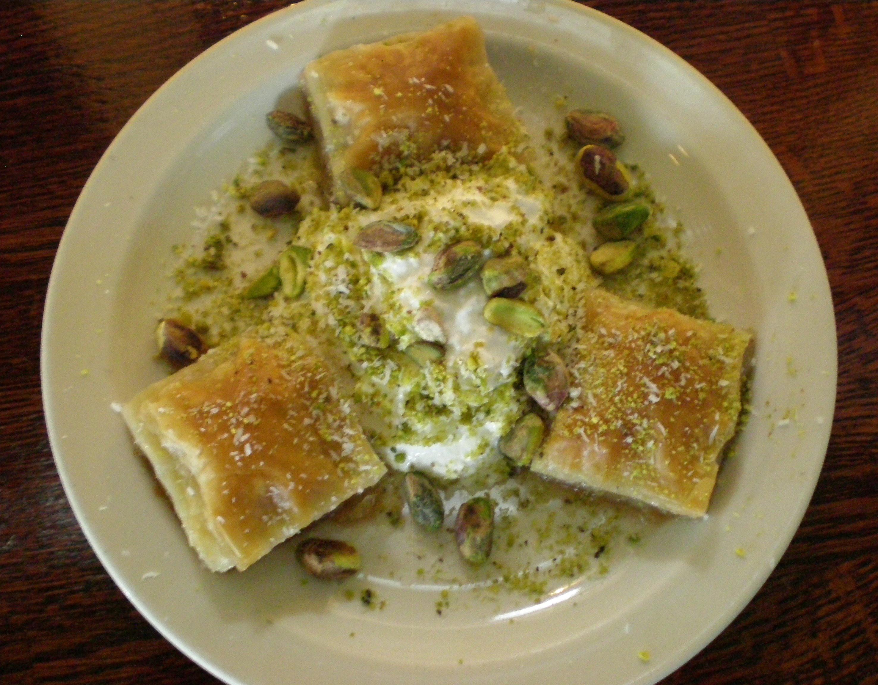 Baklava Recipe Turkish Turkish Baklava Served With