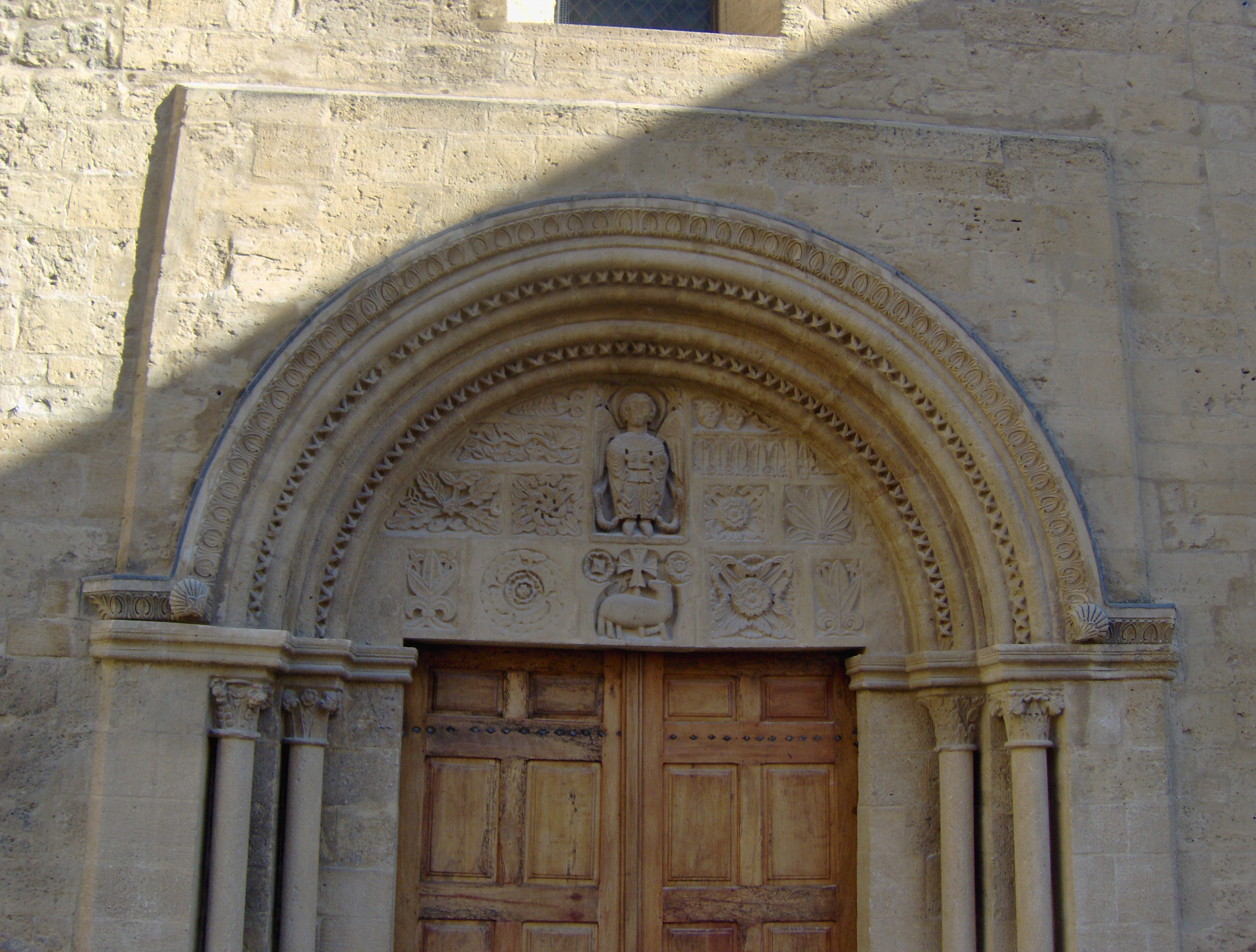 File tympanum eglise st michel salon de provence jpg - Eglise saint laurent salon de provence ...