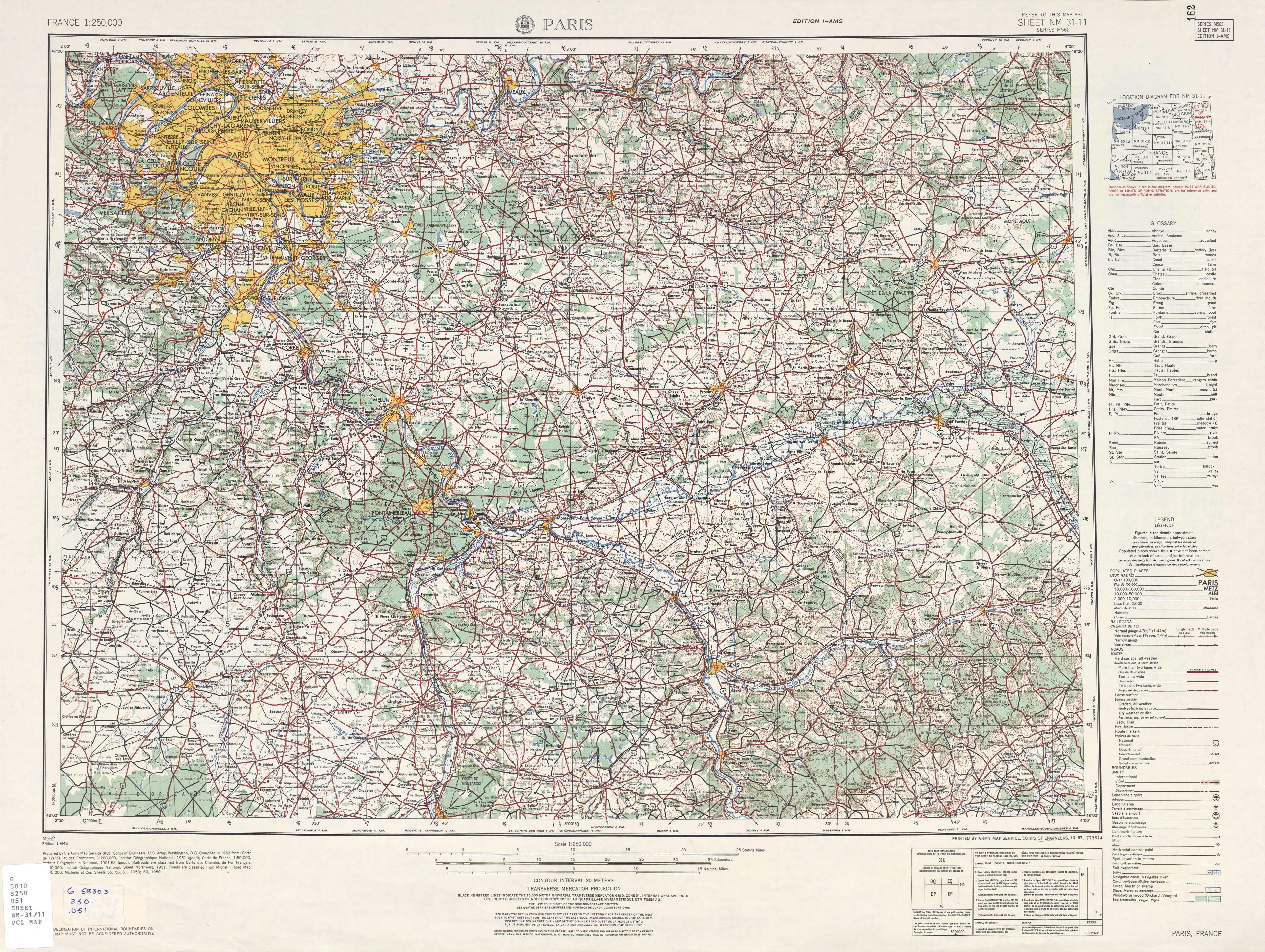 File:U.S. Army Map Service, Paris 1954 - The University of Texas ...
