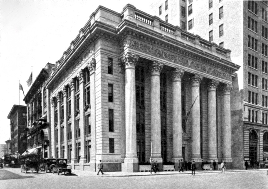dating a city banker Charles e mitchell: charles e mitchell, american banker and chairman of the national city organization mitchell took his first job with the western electric company in chicago and became the president's assistant in 1903.
