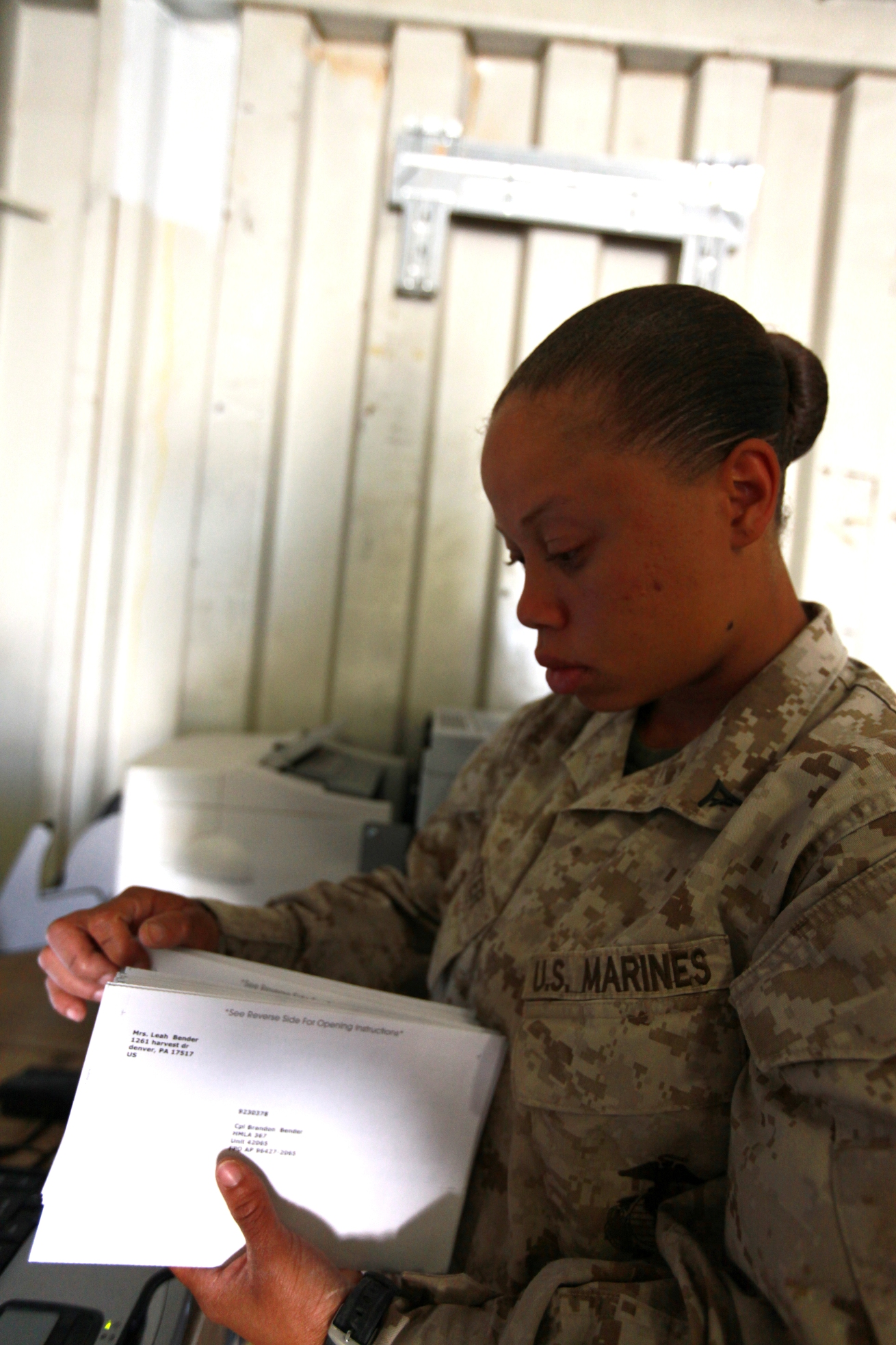 file u s marine corps lance cpl tiffany webster a postal clerk file u s marine corps lance cpl tiffany webster a postal clerk headquarters