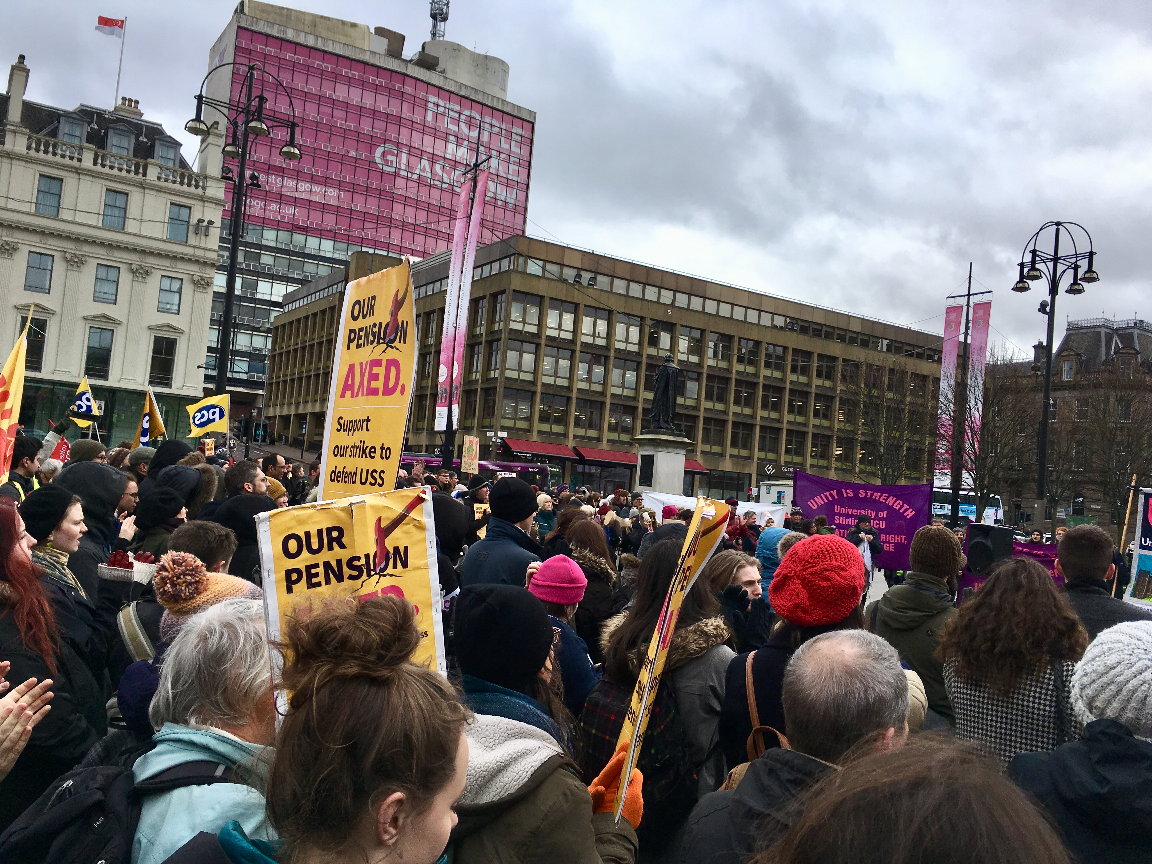 Image result for ucu strike
