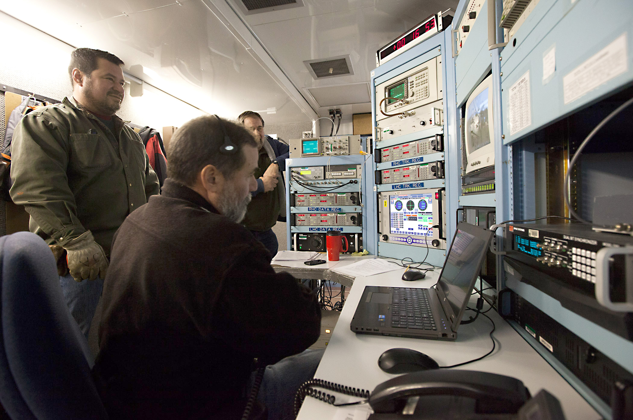 (8448618386).jpg On the night of Feb. 2, 2013, a team of NASA scientists waited in Poker Flats, Alaska to see if conditions were right to launch the VISIONS sounding