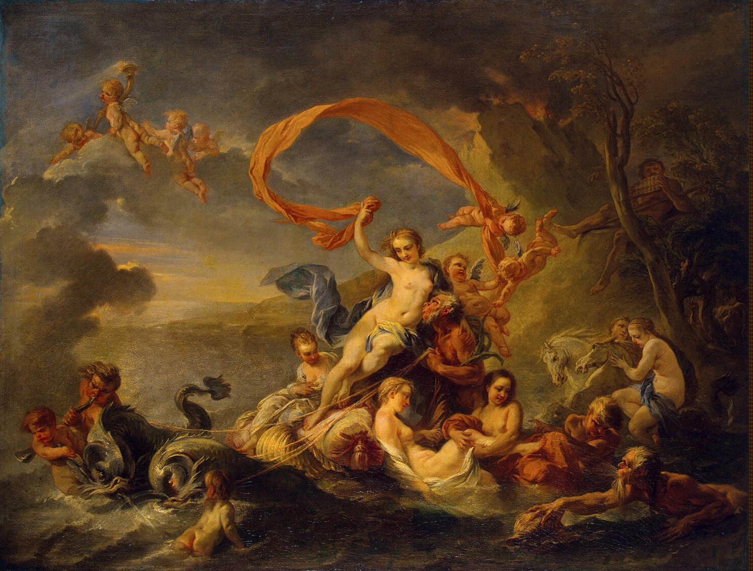 "feel art again: ""the triumph of galatea"" | mental floss"