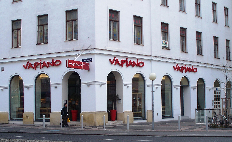 file vapiano restaurant in wien jpg wikimedia commons. Black Bedroom Furniture Sets. Home Design Ideas