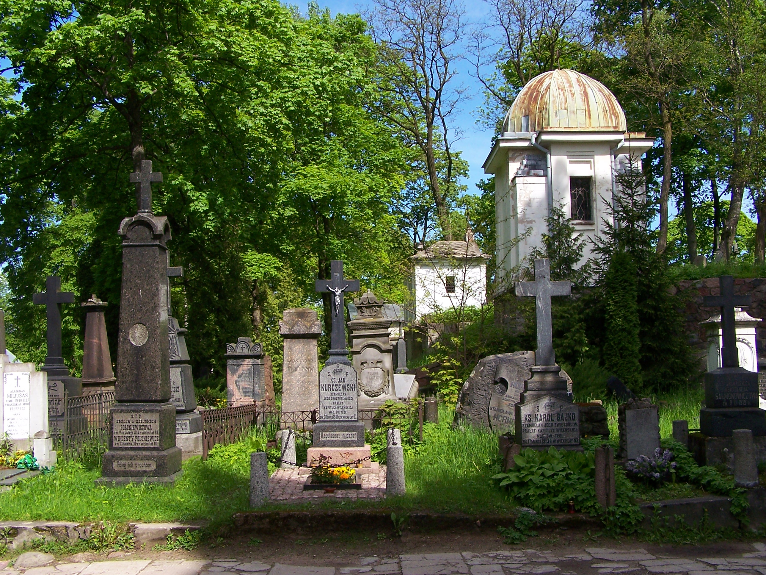 Vilnius - Rasos Cemetery 05.JPG