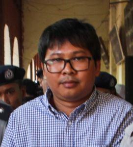 Wa Lone Burmese journalist