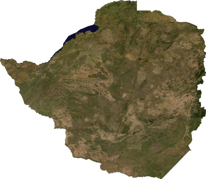 Zimbabwe géographie