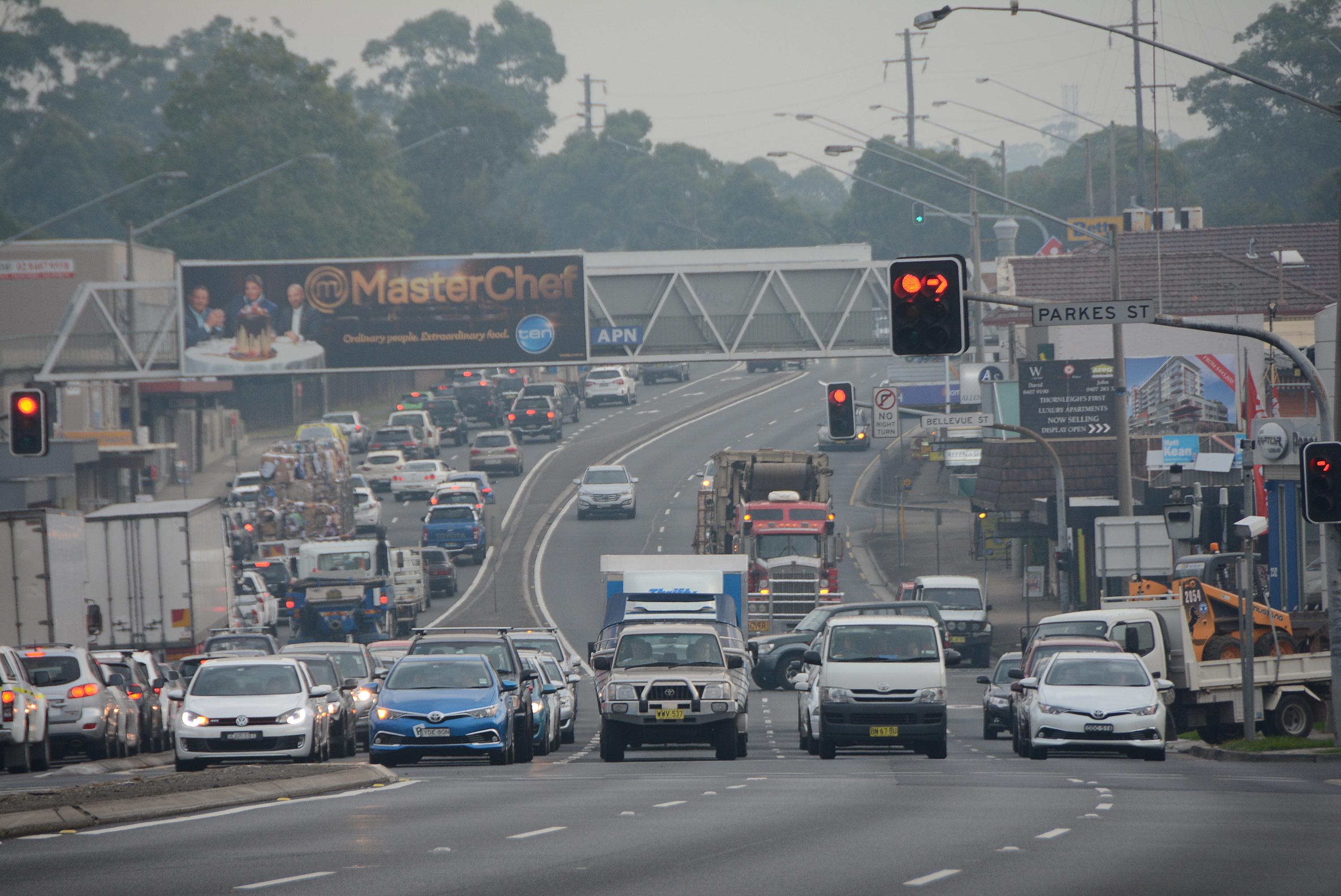 Pennant Hills Road - Wikipedia