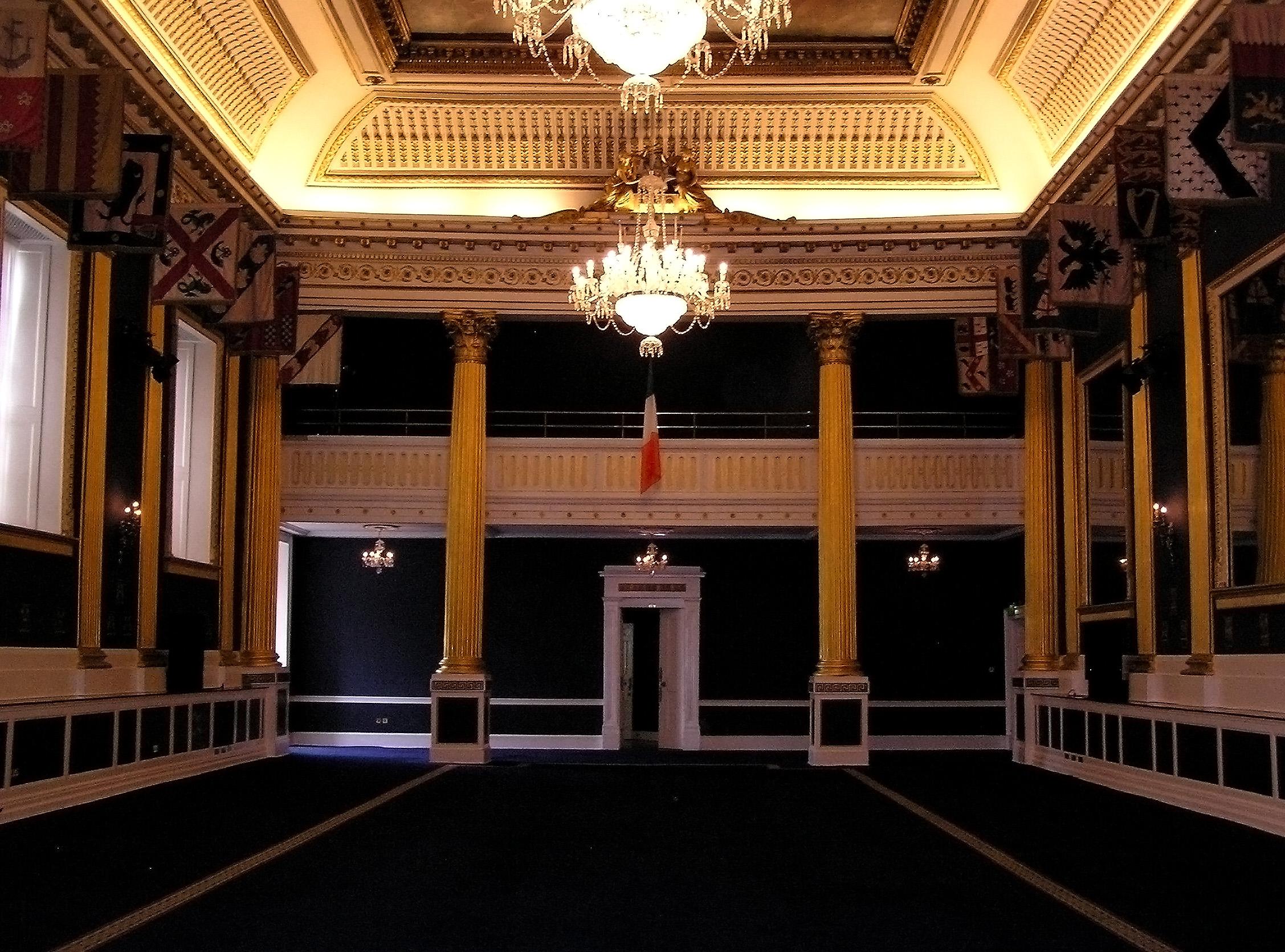 file:(ireland) dublin castle interior (st. patrick's hall)