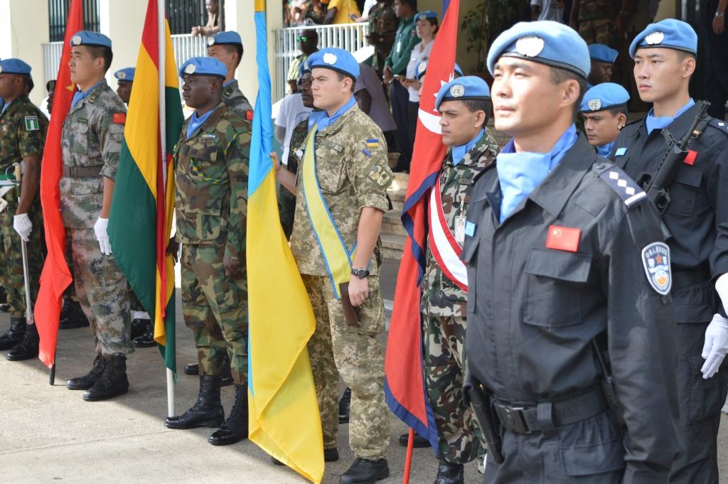 Файл: Национальный контингент в Либерии принял участие в праздновании Международного дня миротворцев ООН (27069376160) .jpg — Википедия