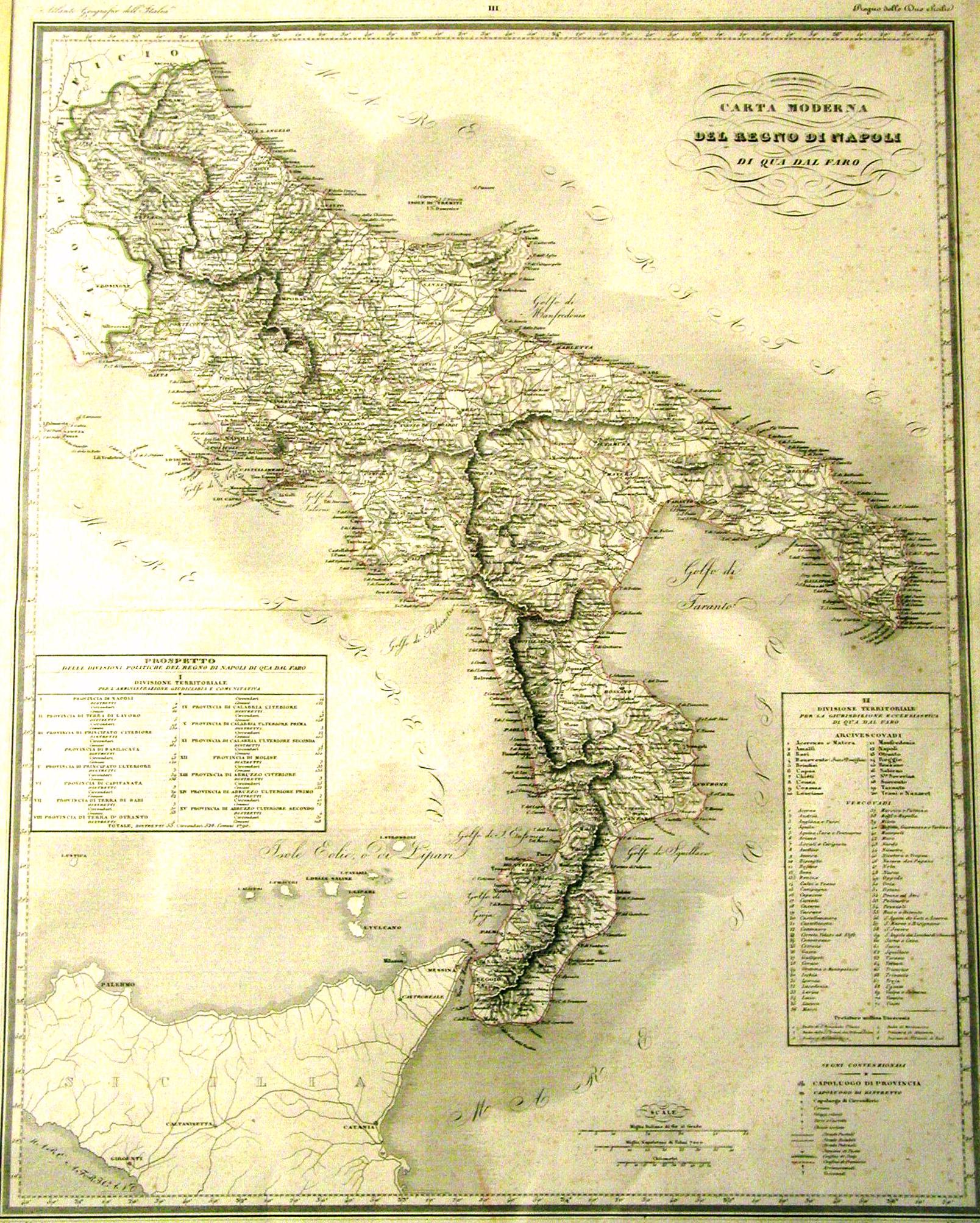 Cartina Regno Di Napoli