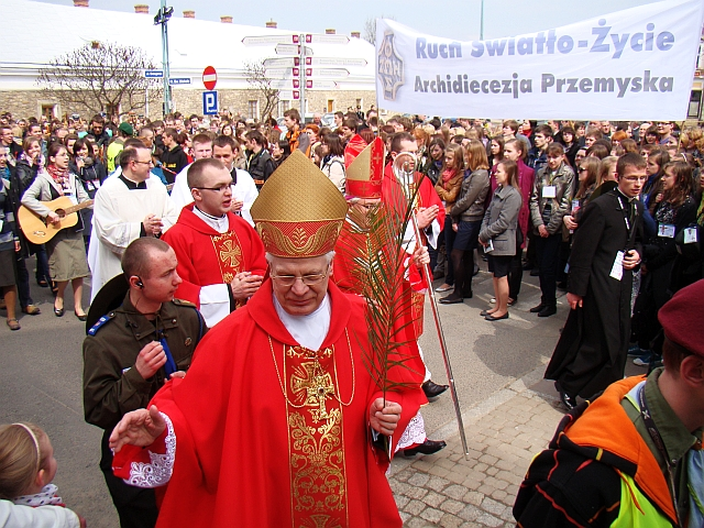 05354 Palm Sunday in Sanok