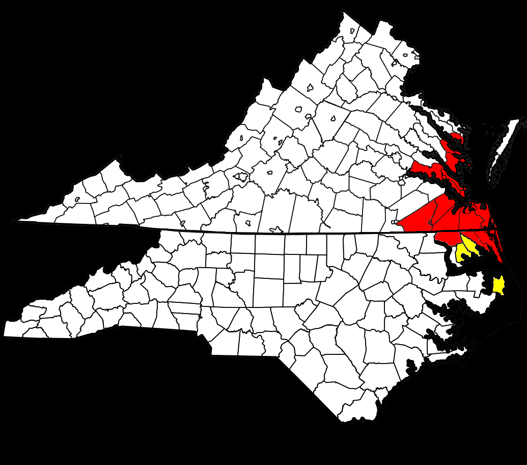 File:1024px Map of Virginia and North Carolina highlighting