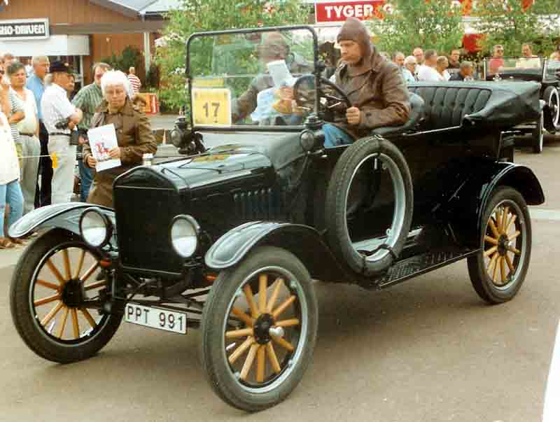 Ford T Touring 1919