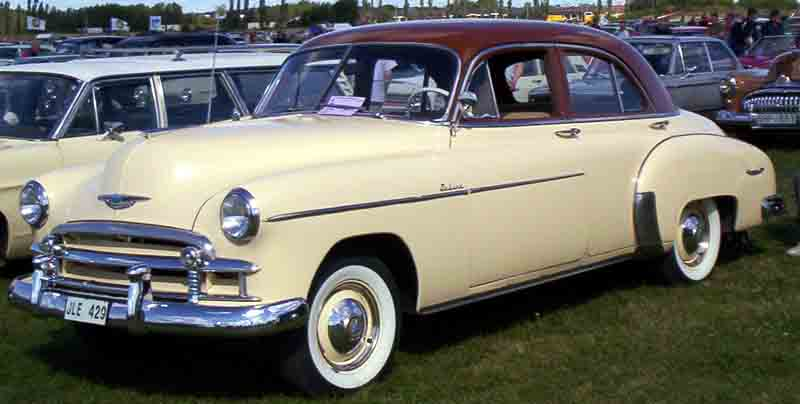 Chevrolet deluxe wikipedia for 1950 chevy styleline deluxe 4 door sedan