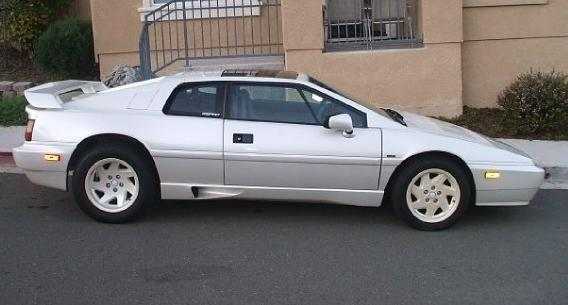 1988 Esprit Turbo side view.JPG