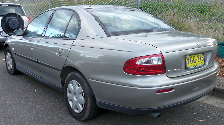File 2001 2002 Holden Vx Ii Commodore Executive Sedan 03 Jpg