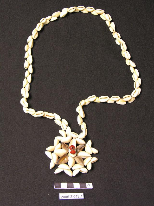 Exhibition Shell Necklace : Brigham young university museum of peoples and cultures