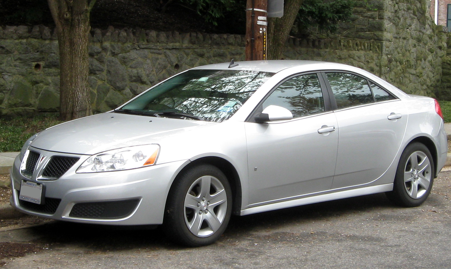 2009 Pontiac G8 Base Sedan 3 6l V6 Auto