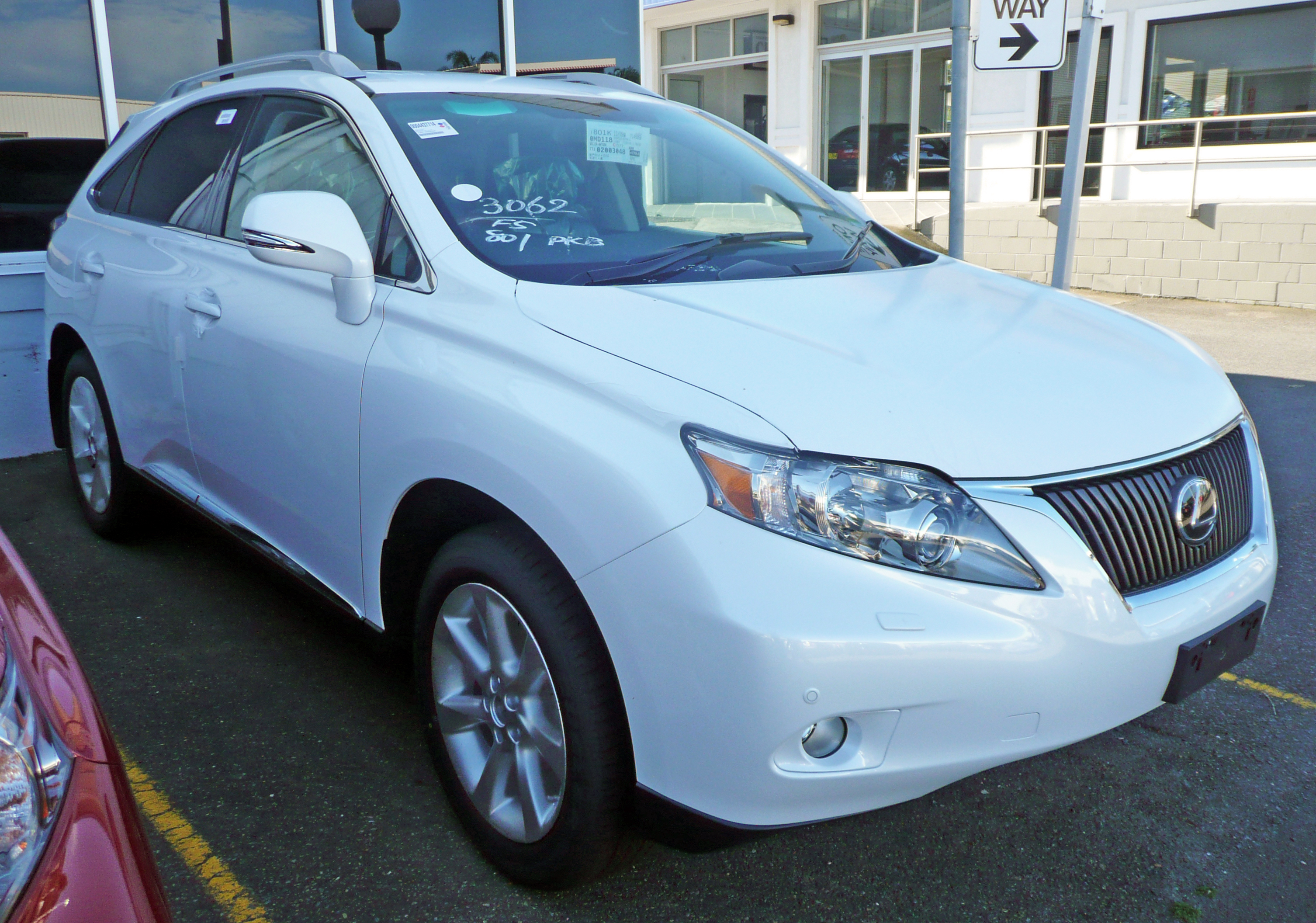 file 2009 lexus rx 350 ggl15r sports luxury wagon. Black Bedroom Furniture Sets. Home Design Ideas
