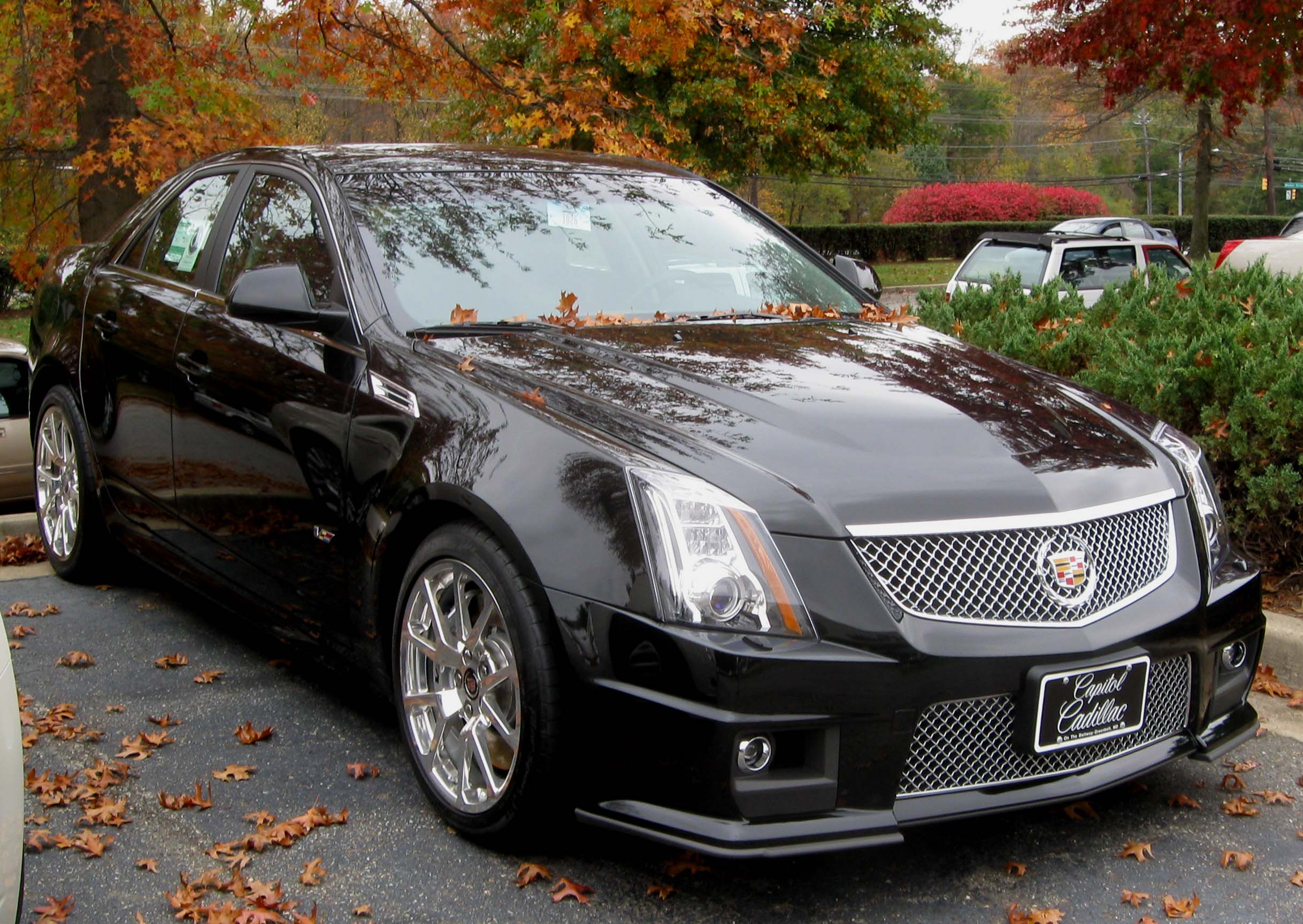 File:2nd Cadillac CTS-V -- 10-30-2009.jpg - Wikipedia, the free ...