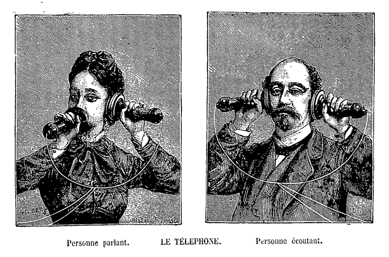 Adolphe Bitard - Téléphone