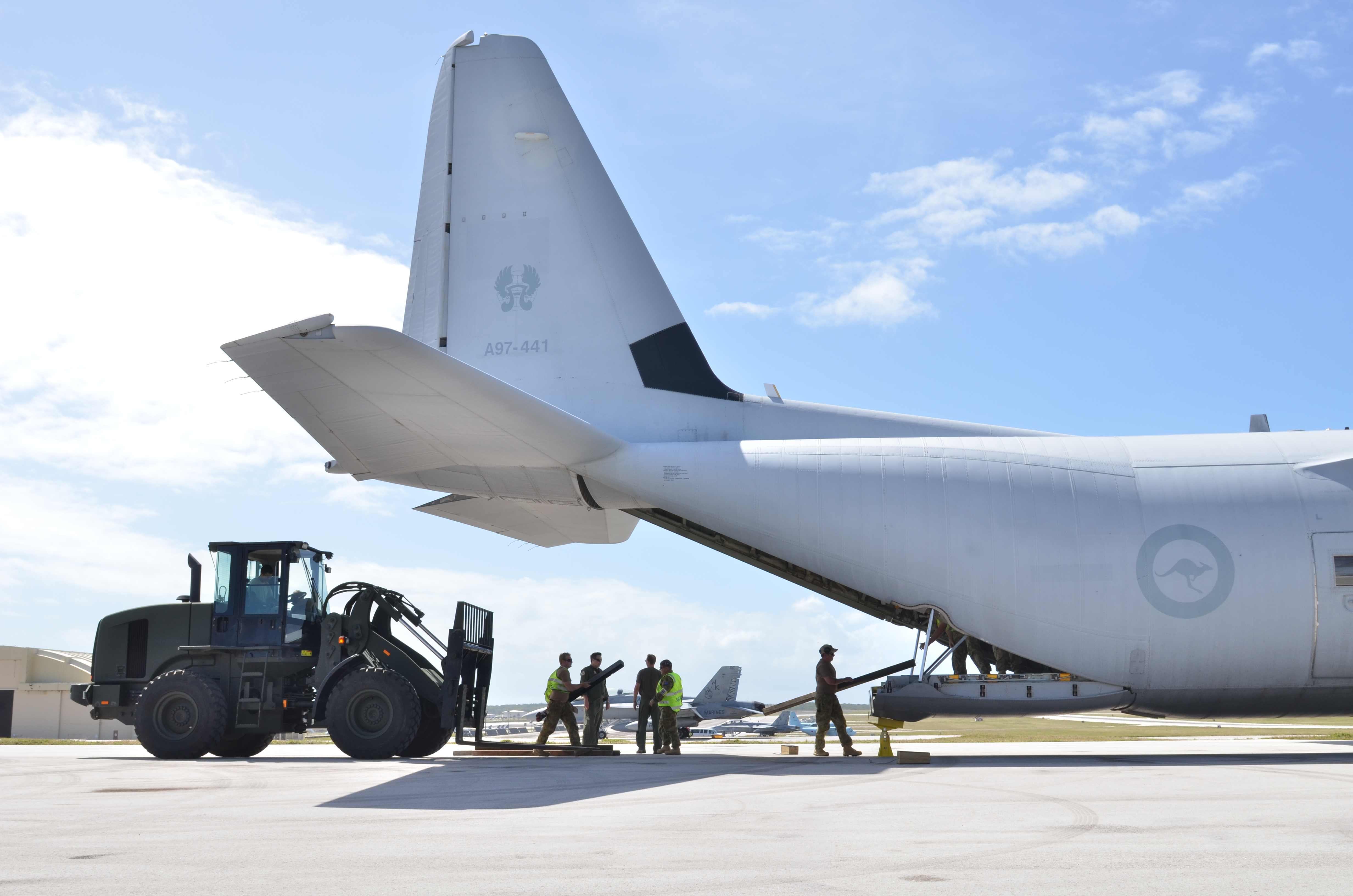 file airmen loading a raaf c 130j during exercise cope north 2013 rh commons wikimedia org  c130j maintenance manual pdf