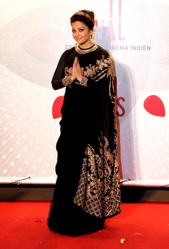 Aishwarya Rai Bachchan in Saree
