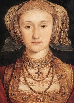 Holbein's portrait of Anne of Cleves AnnavonKlevePortrait.jpg