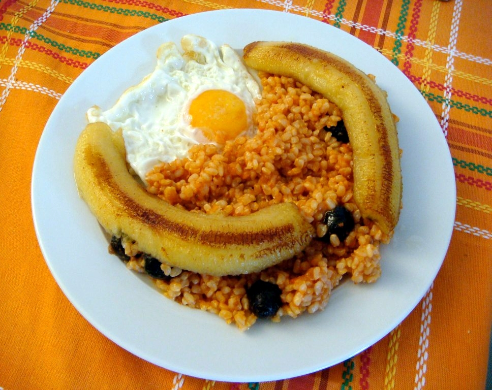 Image result for Arroz à Cubana