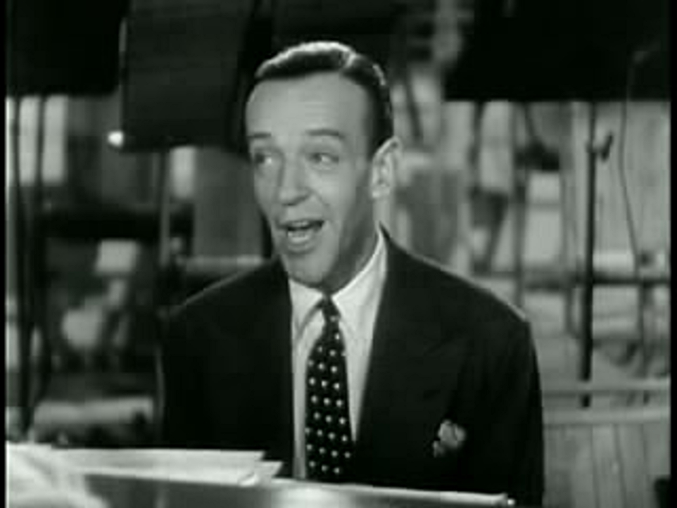 "Fred Astaire singing Hanighen and Mercer's ""Poor Mr. Chisholm"" in Second Chorus (1940)"