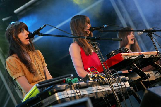 Au Revoir Simone In Concert on 2008