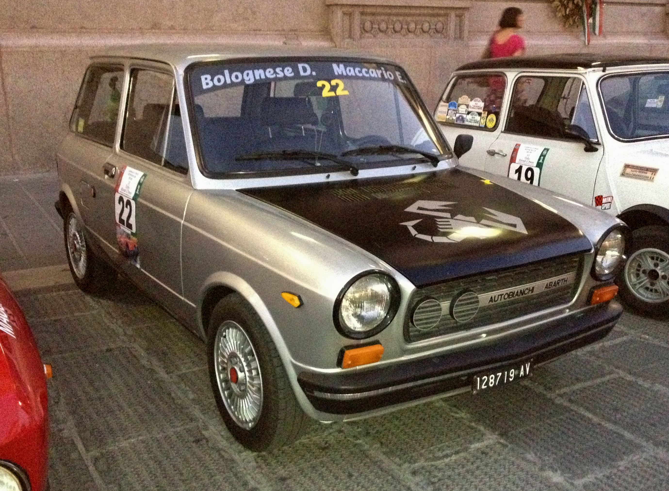 File Autobianchi A112 Abarth Black And Grey Jpg
