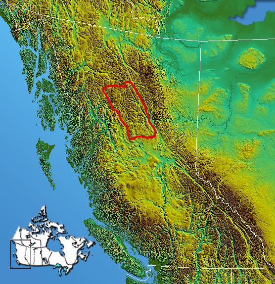 Mountain Ranges Of British Columbia